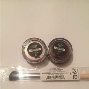 Bare Minerals Eyeshadow Duo & Brush
